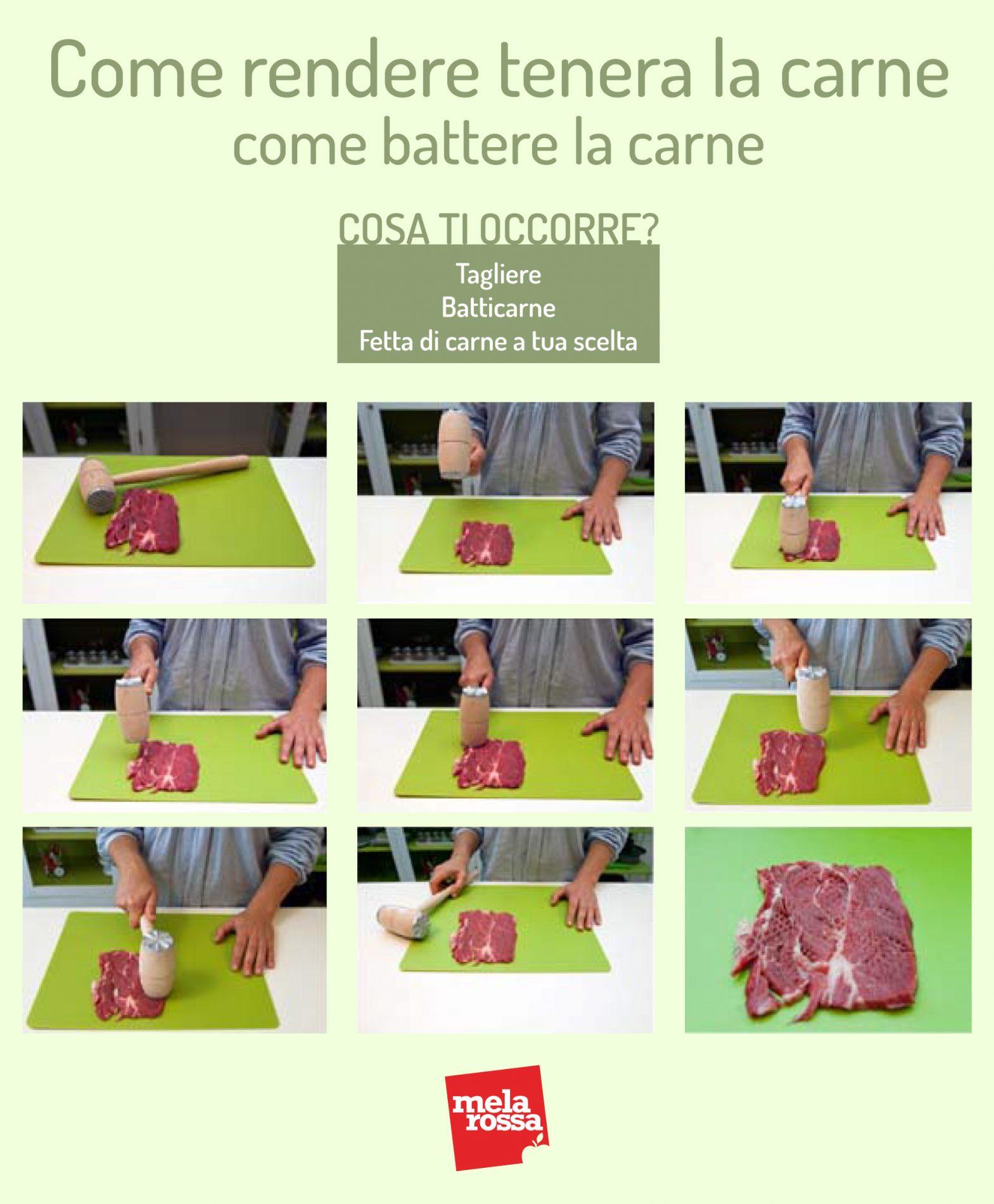 como hacer la carne tierna