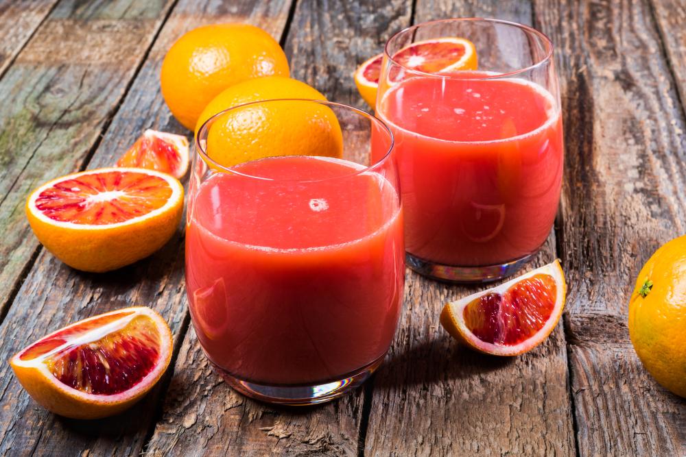 variedad de naranja