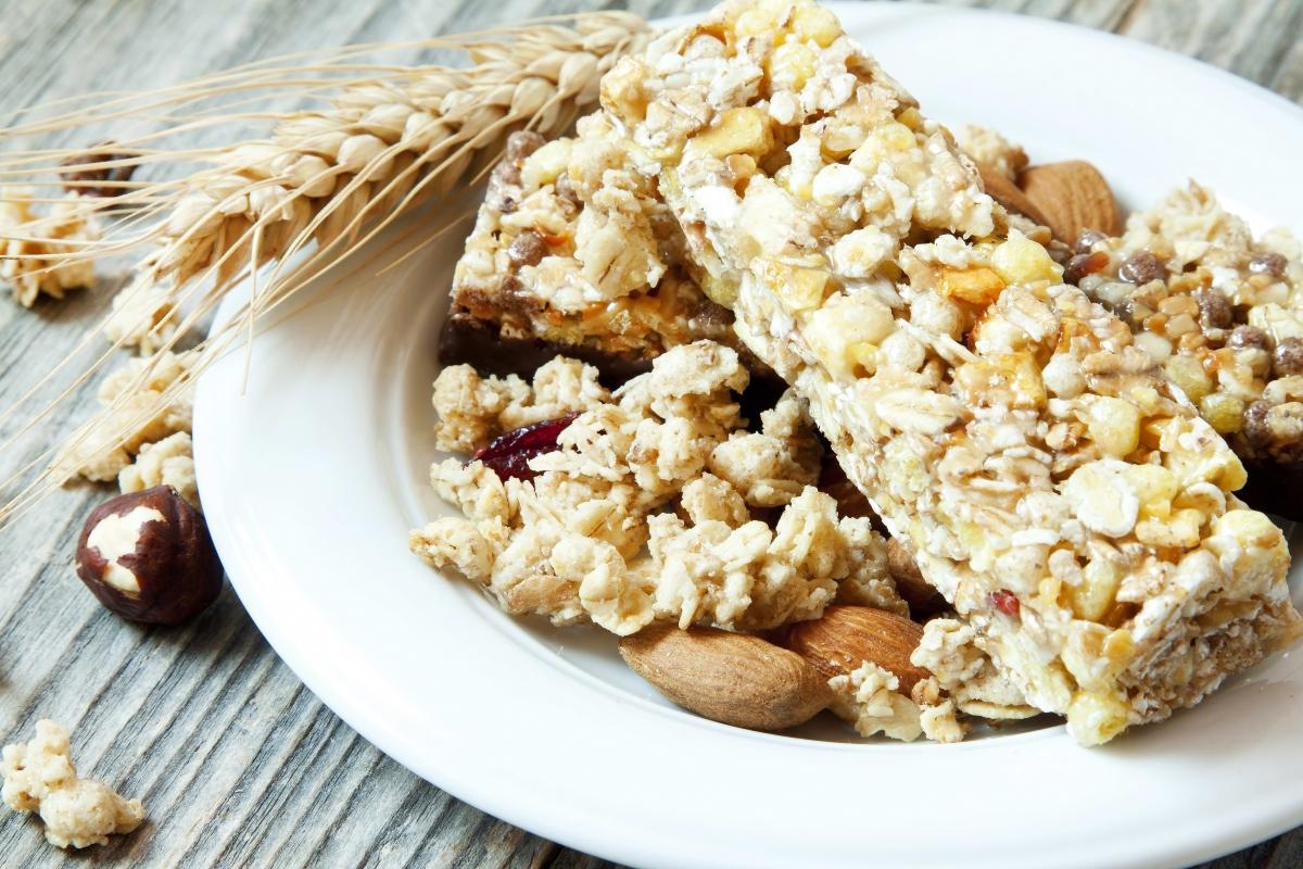 barras de cereal. recetas
