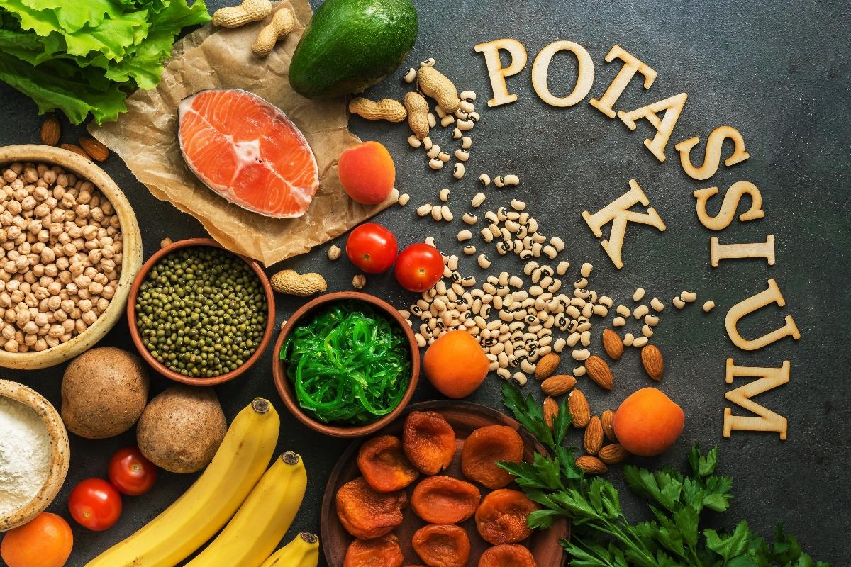 qué comer en caso de potasio alto o bajo