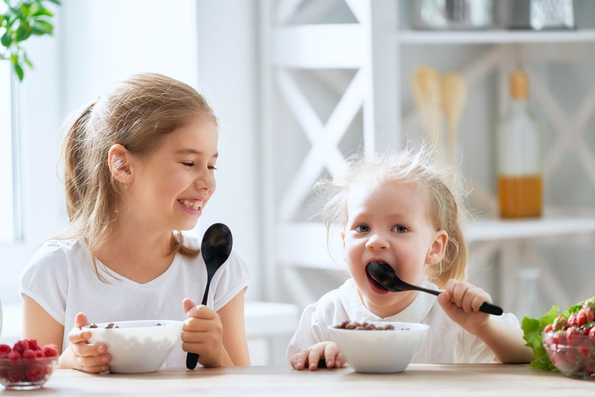 educación alimentaria niños desayuno