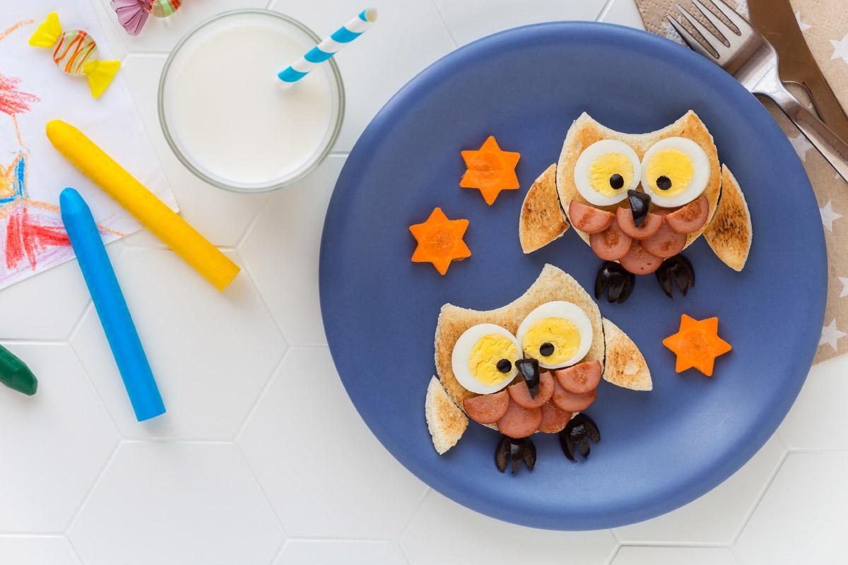 comida educación niños fantasía cocina