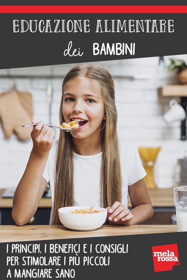educación alimentaria guiar a los niños