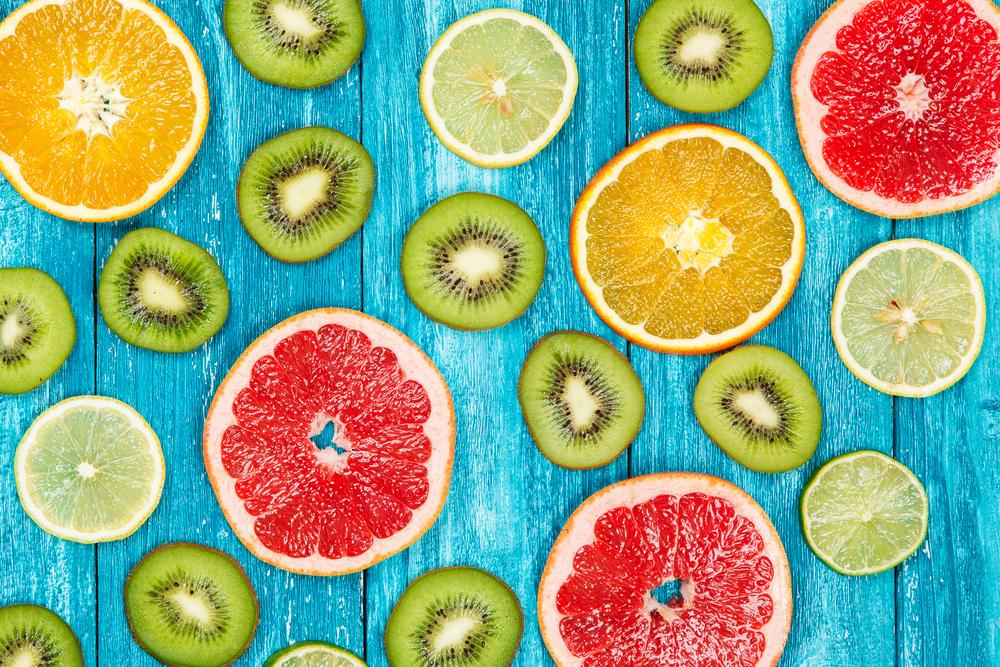 Nutrición y cáncer: cítricos y kiwis