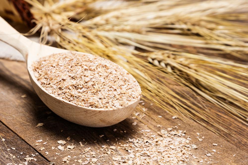 alimentos ricos en magnesio: salvado de avena