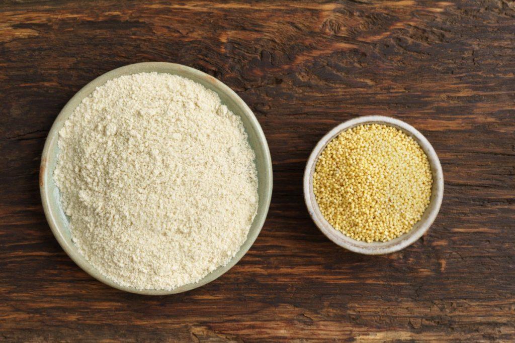 formas de uso: harina de mijo