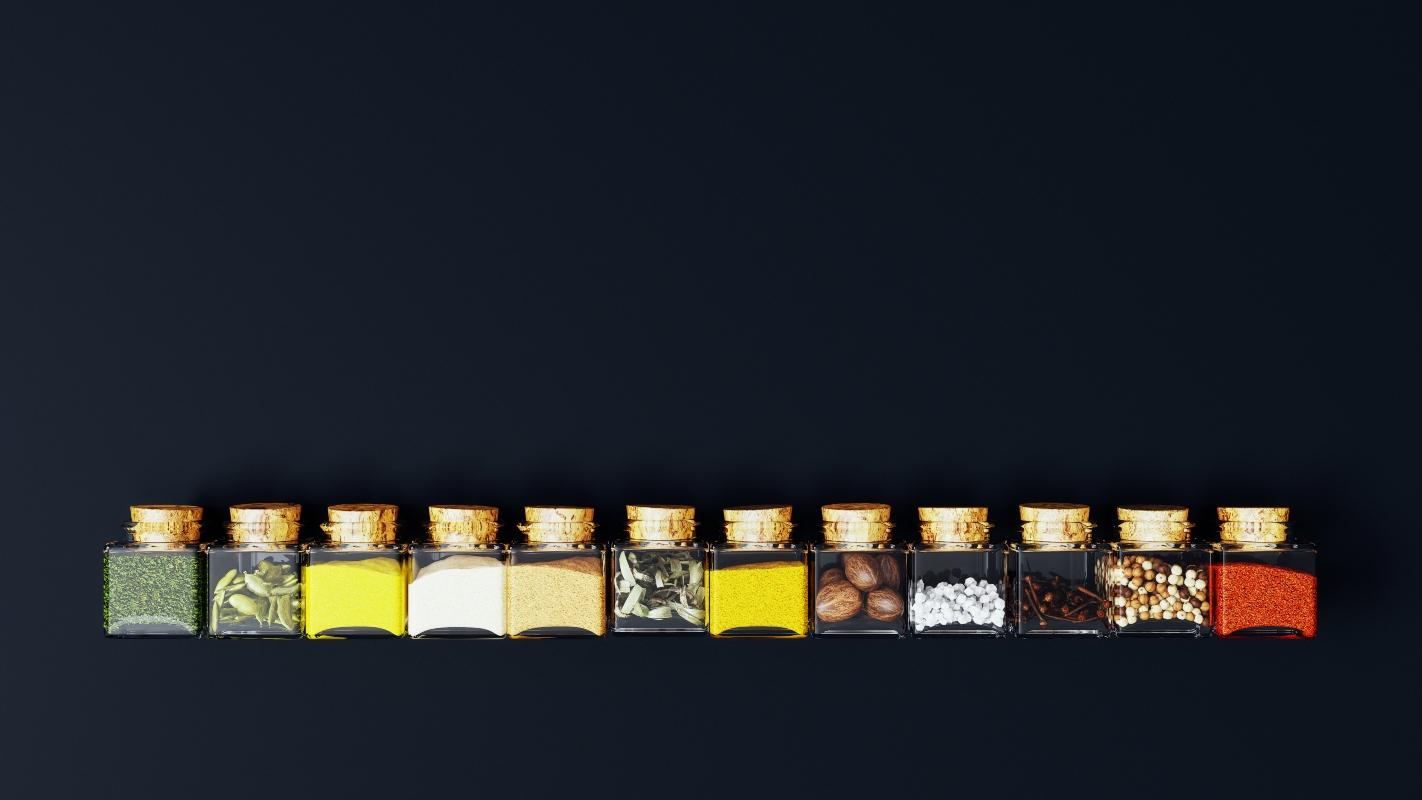 variedad de pimienta negra