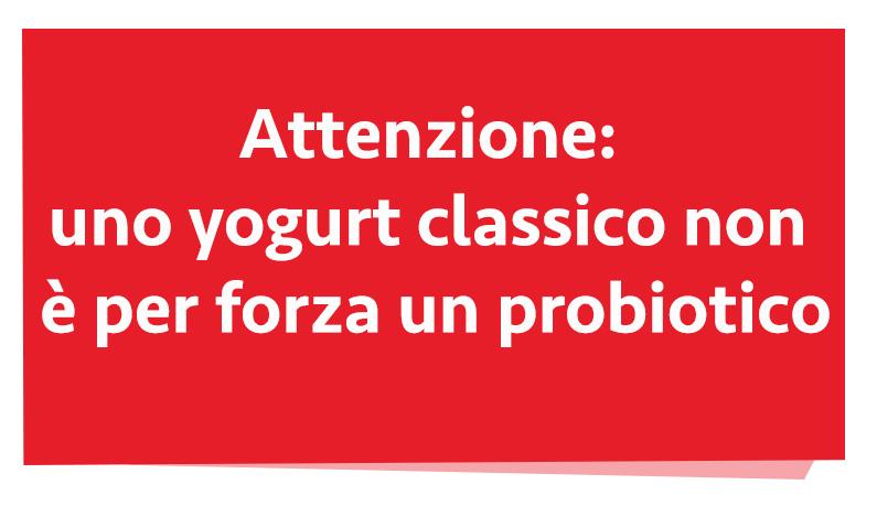 probióticos y yogur
