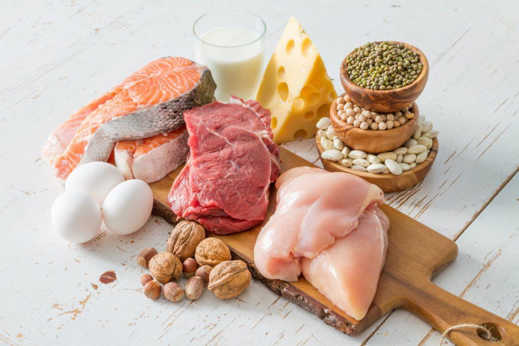 proteínas, dónde encontrarlas