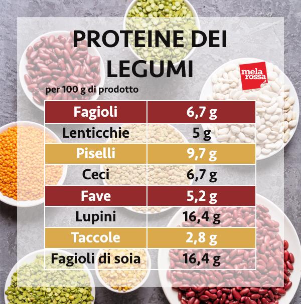 guía de proteínas: proteínas de leguminosas