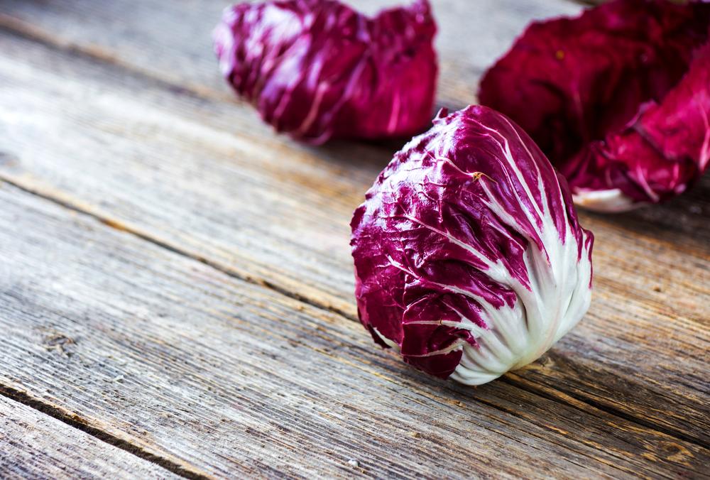 frutas y verduras de temporada: achicoria