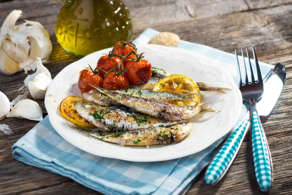 alimentos para comer en otoño: sardinas