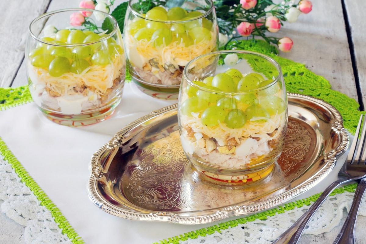 recetas con uvas