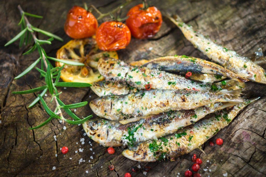 sardinas: pescado azul