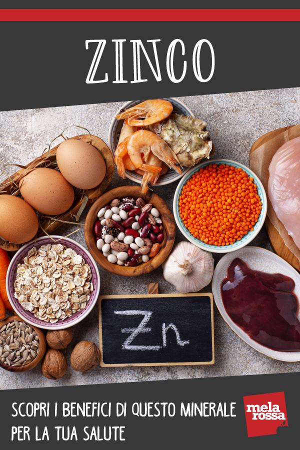 Zinc: beneficios y alimentos ricos