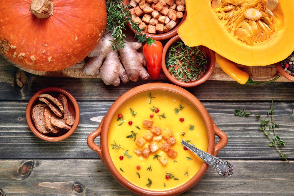 calabaza: recetas ligeras